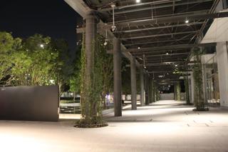 2010年8月の豊洲空間