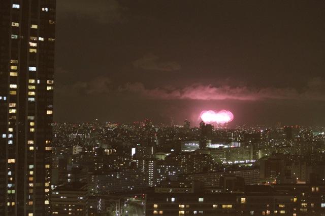 豊洲 江戸川の花火大会