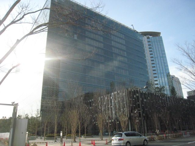 豊洲3-3街区ビルの名称は豊洲キュービックガーデン?