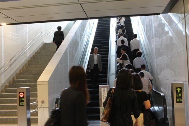 豊洲駅、混雑緩和?