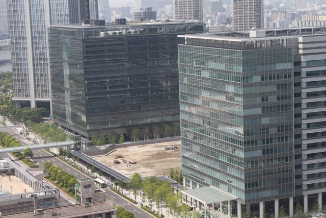 2011年6月の豊洲の工事状況