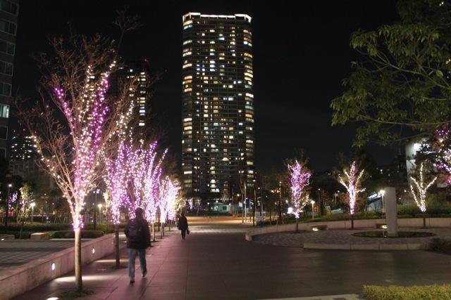 豊洲のイルミネーション2011