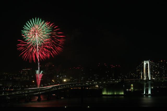 お台場レインボー花火 2011 その2
