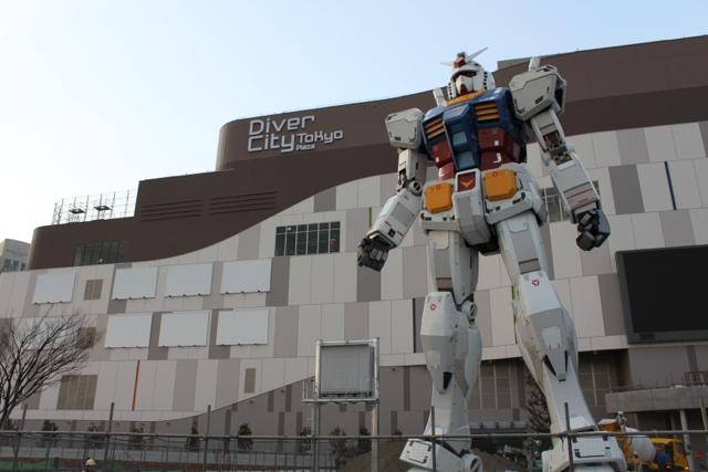 ダイバーシティ東京 プラザ「RG1/1 RX-78-2 ガンダム Ver.GFT」