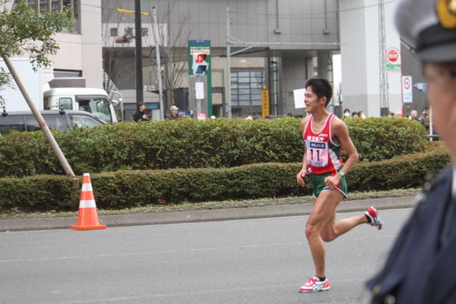 東京マラソン 2012 in 豊洲 川内優輝選手