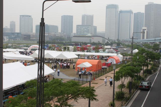 豊洲で開催 第41回消防救助技術関東地区指導会