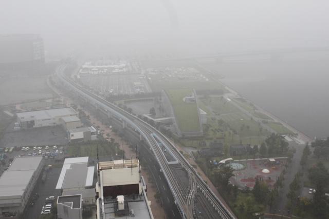 豊洲 雷雨