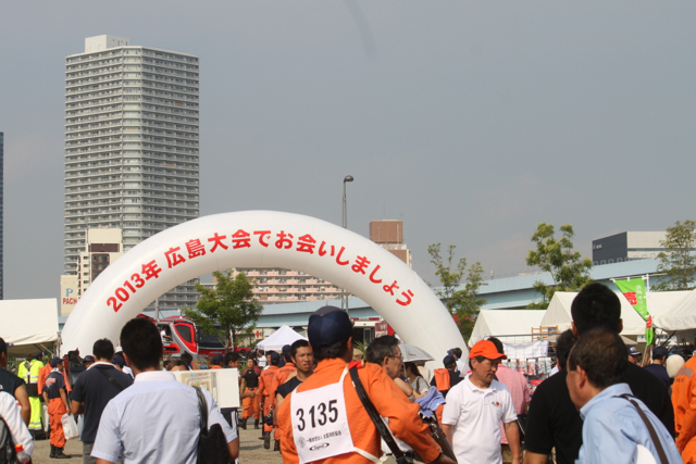 第四十一回全国消防救助技術大会in豊洲