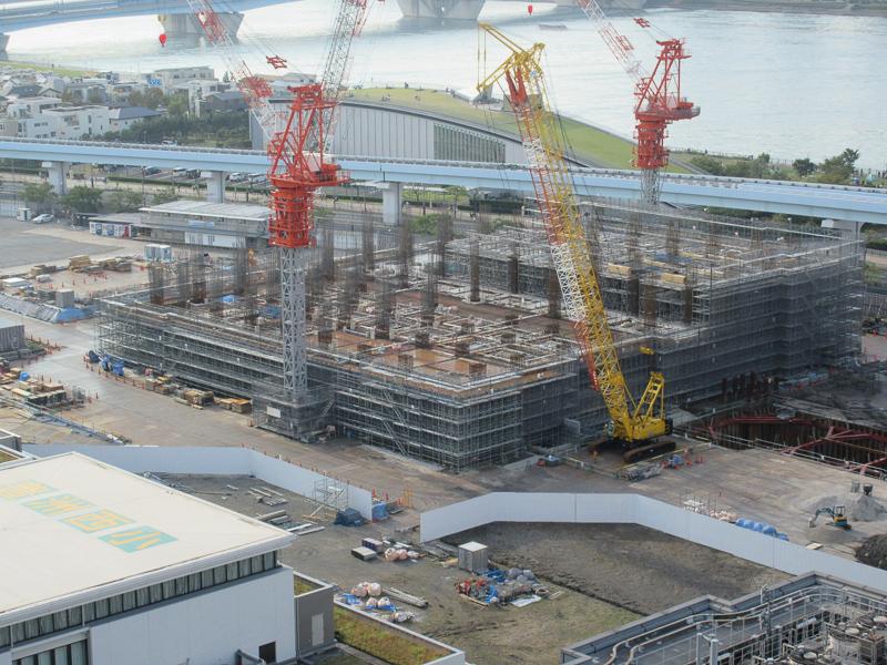 ブランズタワー豊洲 工事2019年10月下旬