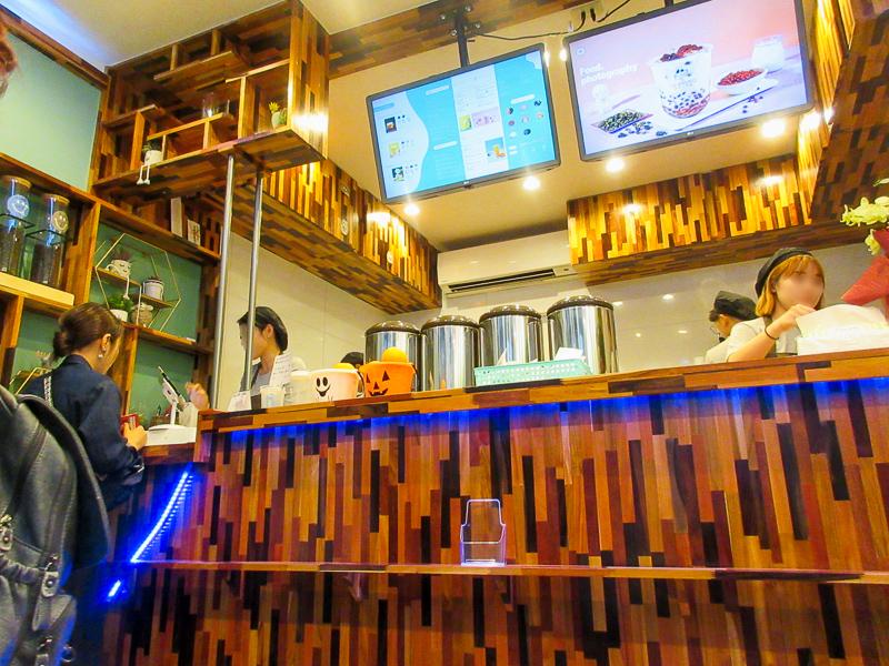 豊洲四丁目に台湾タピオカ専門店「tea amo(ティーアモ)」オープン