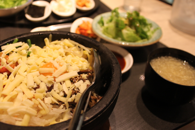 韓国料理チャングでランチ