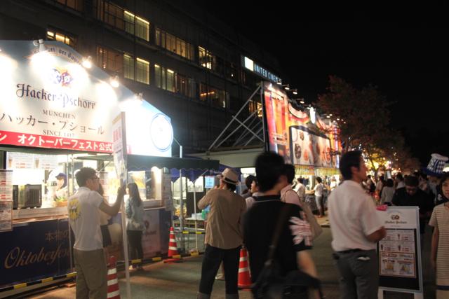 参戦!豊洲オクトーバーフェスト2012