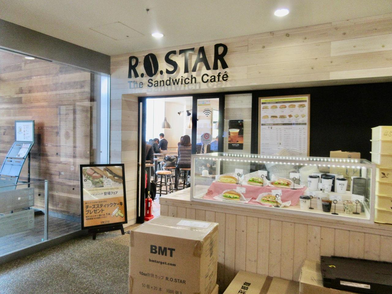 「R.O.Star 豊洲フロント店」にて「新サンドイッチ登場フェア」実施中!
