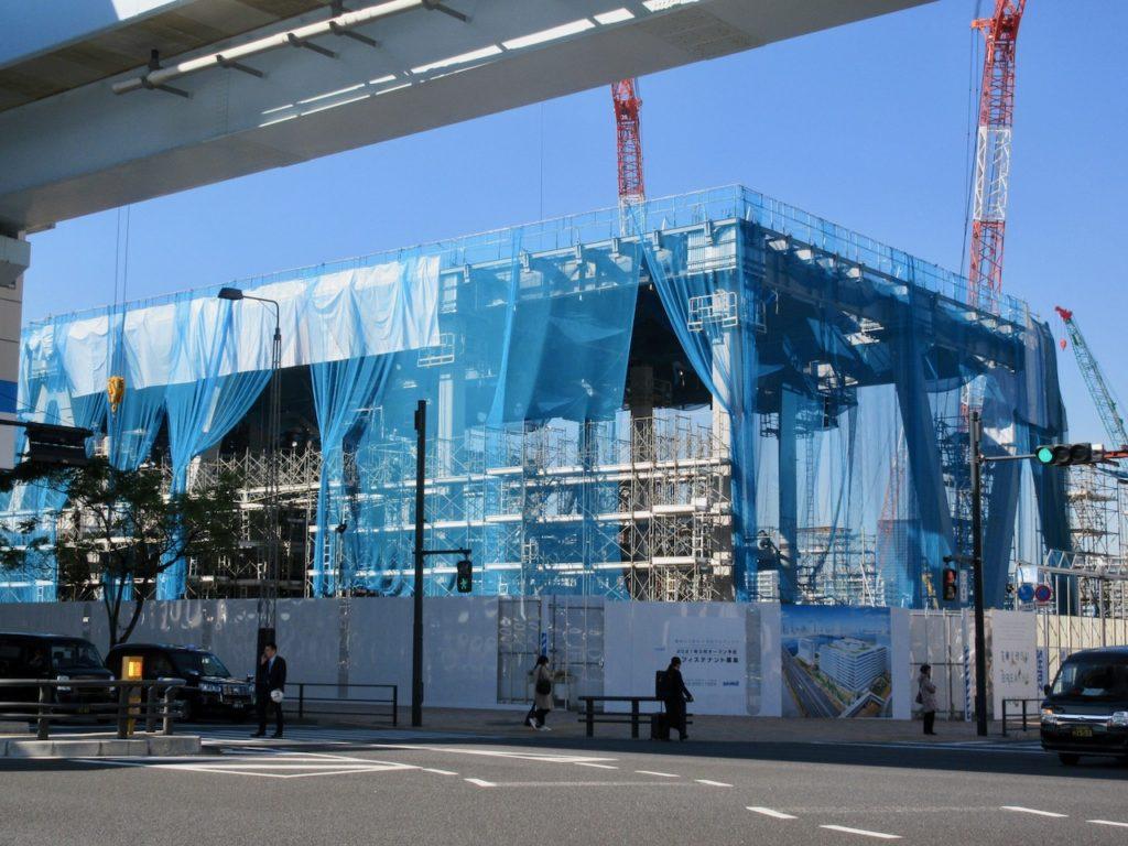 豊洲六丁目 清水建設