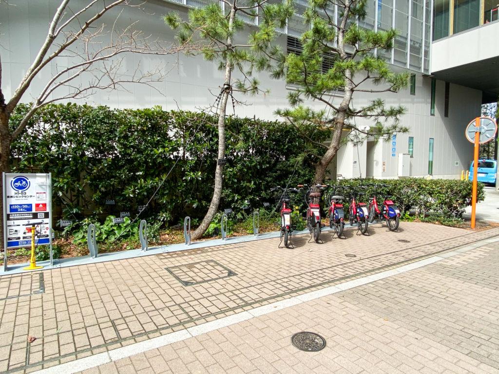 江東区臨海部コミュニティサイクル 豊洲シビックセンター
