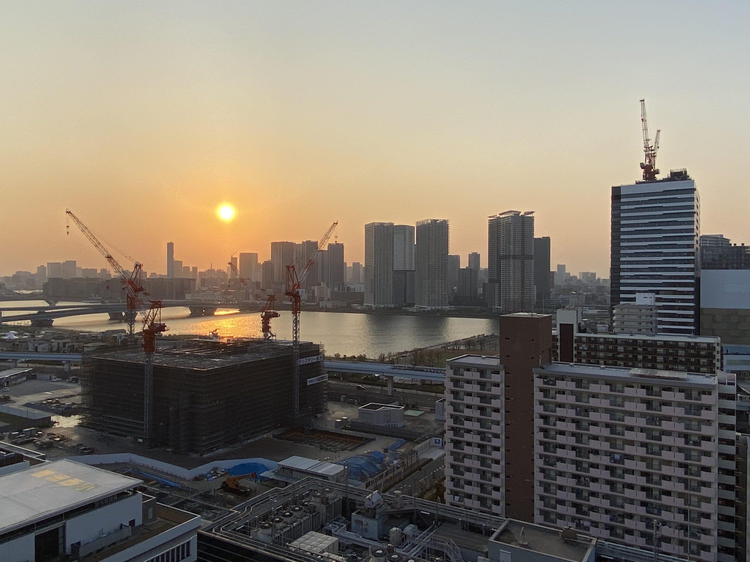緊急事態宣言〜初日の豊洲